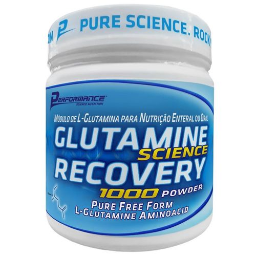 Glutamine Science Recovery 300g - Performance Nutrition